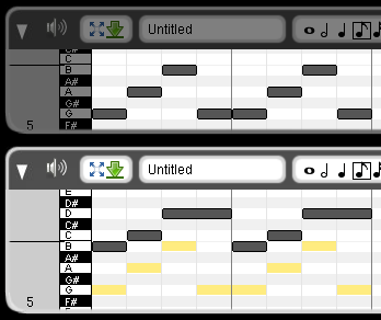 Piano Roll Ghost notes · Issue #520 · LMMS/lmms · GitHub